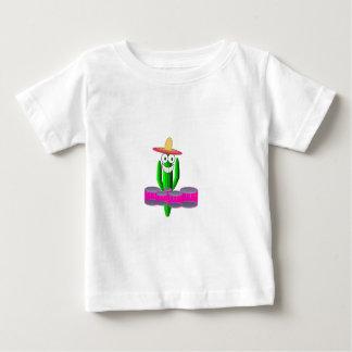 Saguaro-Kaktus, der Viererkabel spielt Baby T-shirt