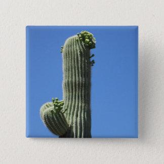 Saguaro-Spitze Quadratischer Button 5,1 Cm