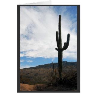 """""""Saguaro Vista """" Karte"""
