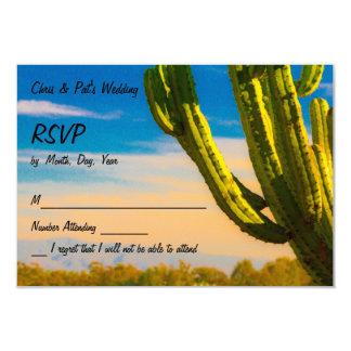 Saguaro-Wüsten-Kaktus auf ein blauer Himmel UAWG Karte