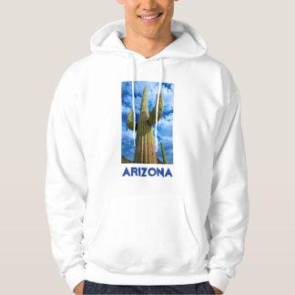 Saguarokaktusporträt, Arizona Hoodie
