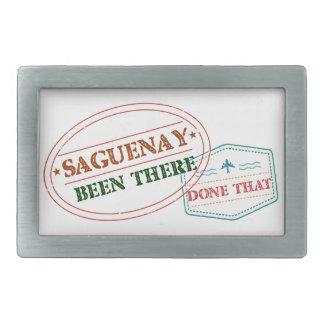 Saguenay dort getan dem rechteckige gürtelschnallen