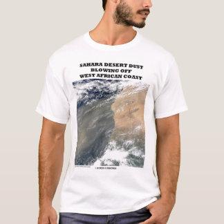 Sahara-Wüste, die westafrikanische Küste wegbläst T-Shirt