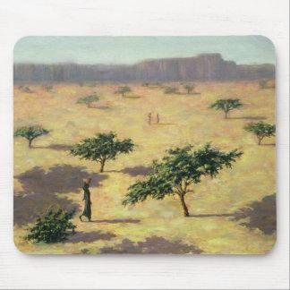Sahelian Landschaft Mali 1991 Mousepads