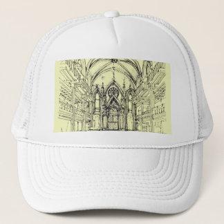 Sahneengel gotisches NYC Truckerkappe