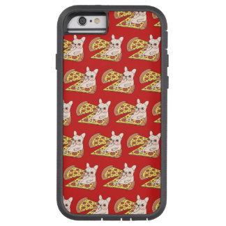 SahneFrenchie lädt Sie zu ihrem Pizza-Party ein Tough Xtreme iPhone 6 Hülle