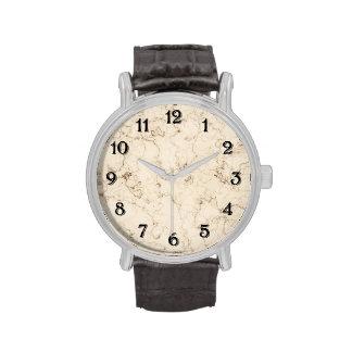 SahneImitat-Marmor Armbanduhr