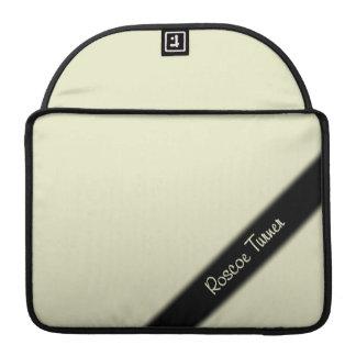 Sahnemonogramm MacBook Pro Sleeve