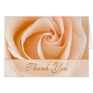 SahneRose danken Ihnen zu kardieren Mitteilungskarte