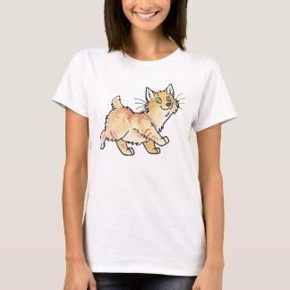 Sahnetabby-Manx Miezekatze T-Shirt