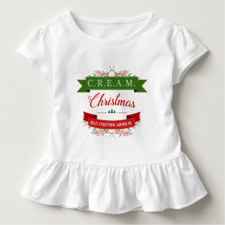SAHNEweihnachten ordnet alles um mich an! Kleinkind T-shirt