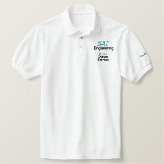 SAI Technik-Polo - Männer Besticktes Polo Shirt
