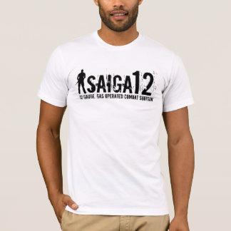Saiga 12 - 12 messen ab, gasen betriebene T-Shirt