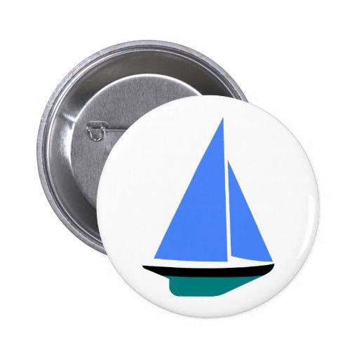 Sailing Boat - Voilier (11) Anstecknadelbuttons