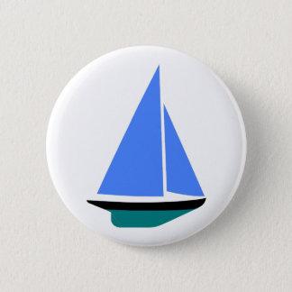 Sailing Boat - Voilier (11) Runder Button 5,7 Cm