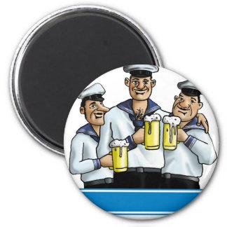 Sailor Runder Magnet 5,7 Cm