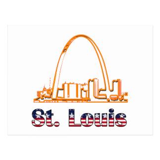 Saint Louis-Bogen Postkarte