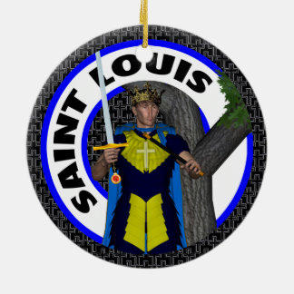 Saint Louis IX Keramik Ornament