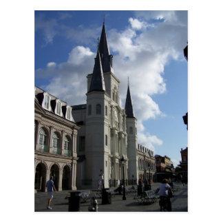 Saint Louis-Kathedrale New Orleans Louisiana Postkarte