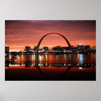 Saint Louis Missouri Poster