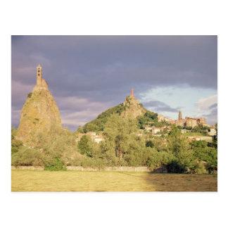Saint Michel d'Aiguilhe, das Rocher Postkarte