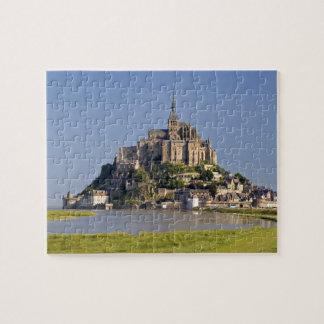Saint Michel Le Mont in der Region von Puzzle