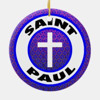 Saint Paul Keramik Ornament