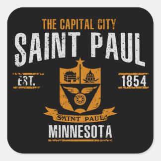 Saint Paul Quadratischer Aufkleber