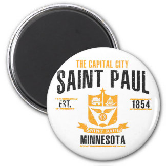 Saint Paul Runder Magnet 5,1 Cm