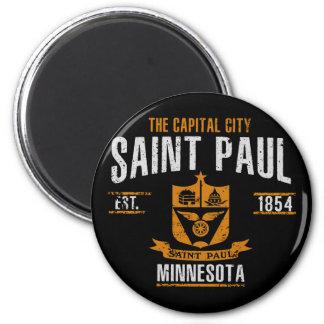 Saint Paul Runder Magnet 5,7 Cm