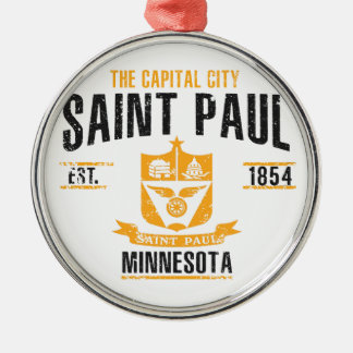Saint Paul Silbernes Ornament