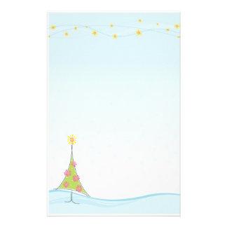 SAISONbriefpapier:: wunderliches christmastree 1 Briefpapier