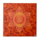 Sakrale Chakra Keramik-Fliese Keramikfliese