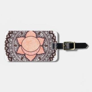 Sakrale Chakra Mandala Gepäckanhänger