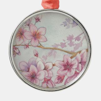 Sakura Festival Silbernes Ornament