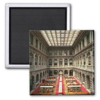 Sala di Lettura, im Jahre 1537-88 errichtet (Foto) Quadratischer Magnet
