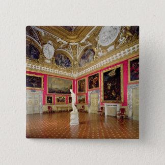 """""""Sala di Venere"""" (Hall von Venus) Th enthalten Quadratischer Button 5,1 Cm"""