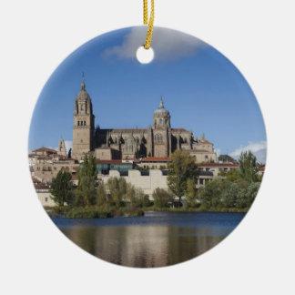Salamanca-Kathedralen und Stadt 2 Keramik Ornament