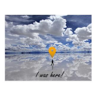 Salar de Uyuni, Bolivien - ich war hier! Postkarte