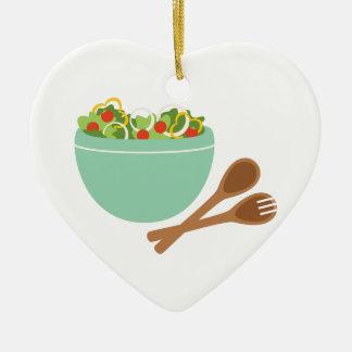 Salat-Schüssel Keramik Ornament