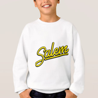 Salem-Leuchtreklame im Gelb Sweatshirt