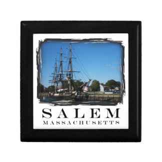 Salem Massachusetts Schmuckschachtel