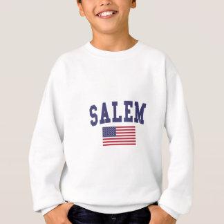 Salem ODER US-Flagge Sweatshirt
