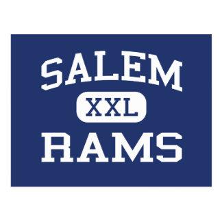 Salem - RAMs - Highschool - Salem New-Jersey Postkarte