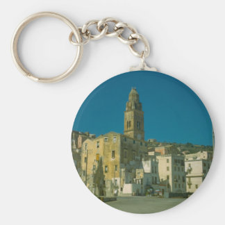 Salerno, Kirche und Stadt Schlüsselanhänger