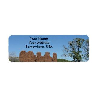 Saline-Pueblo-Auftrag-Adressen-Etiketten