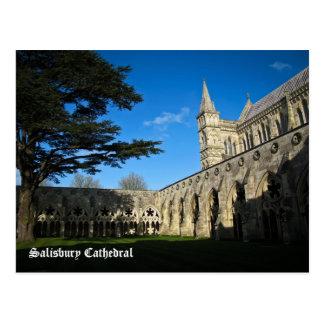 Salisbury-Kathedrale Postkarte