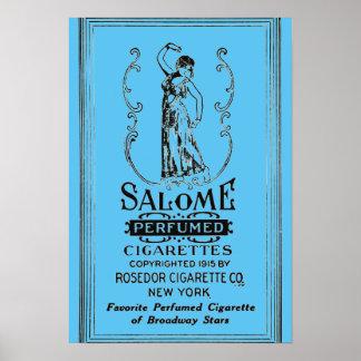 Salome Zigaretten-Anzeige Poster
