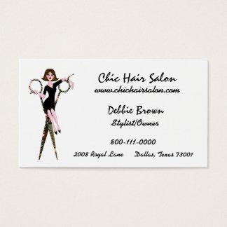 Salon-Diva-Visitenkarten Visitenkarte