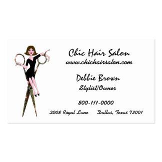 Salon-Diva-Visitenkarten Visitenkarten